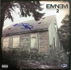 Eminem Signed Marshall Maters LP 2 Album Cover BAS #A10821