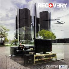 Eminem Signed Recovery Album Cover Autographed BAS #A85422