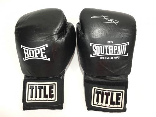 Eminem Signed Southpaw Boxing Glove JSA Coa