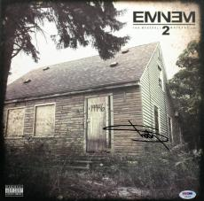Eminem Signed The Marshall Mathers LP 2 Album Cover PSA/DNA #AB04765