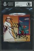 Eminem Signed The Slim Shady LP Cd Cover Autographed BAS Slabbed