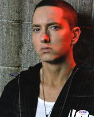 Eminem Slim Shady Autographed Signed 8x10 Poster Photo Psa/Dna
