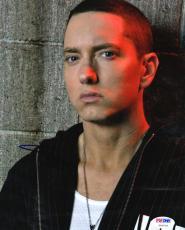 Eminem Slim Shady Autographed Signed 8x10 Poster Photo Psa/Dna AFTAL