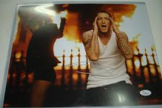 Eminem Slim Shady Hand Signed/Autographed 11 x 14 Photo - JSA #Y77818