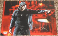 Eminem Slim Shady Marshall Mathers Signed 11x14 Photo Autograph Psa/dna V06756