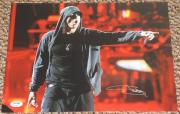 Eminem Slim Shady Marshall Mathers Signed 11x14 Photo Autograph Psa/dna V06756