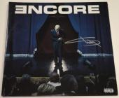 Eminem Slim Shady Marshall Mathers Signed Encore Vinyl Lp Album Autograph Coa