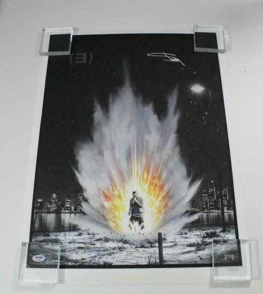 Eminem Slim Shady Signed Autograph Limited Edition Hand-numbered Poster - A Psa