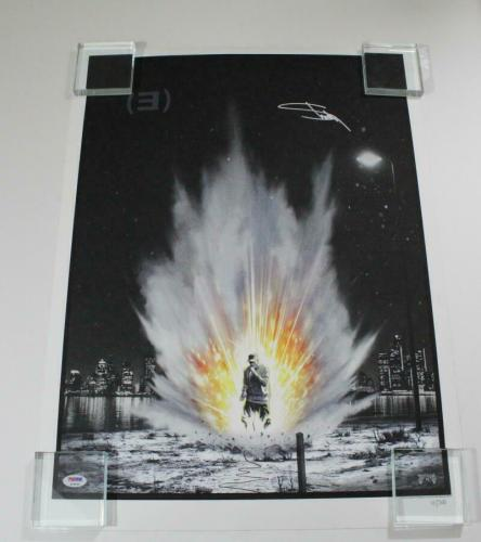 Eminem Slim Shady Signed Autograph Limited Edition Hand-numbered Poster - B Psa
