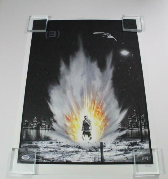Eminem Slim Shady Signed Autograph Limited Edition Hand-numbered Poster - C Psa