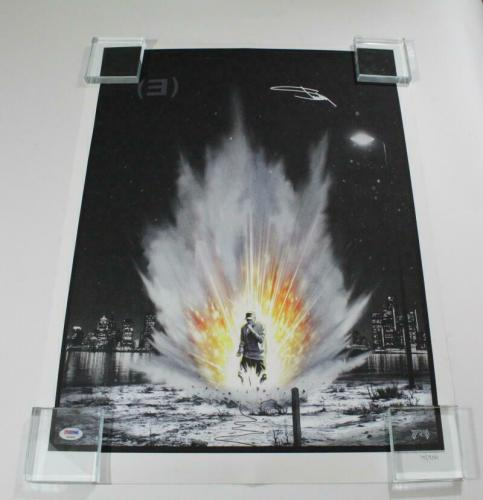 Eminem Slim Shady Signed Autograph Limited Edition Hand-numbered Poster - D Psa