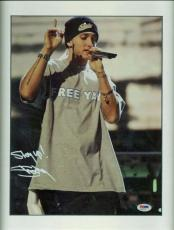 Eminem Slim Shady Signed Autographed 11x14 Photo Stay Up! PSA/DNA