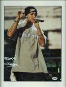 Eminem Slim Shady Signed Autographed 11x14 Photo Stay Up! PSA/DNA