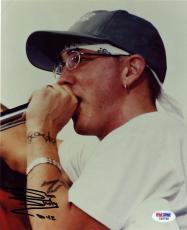 Eminem Slim Shady Signed Autographed 8x10 D-12 Photograph PSA/DNA
