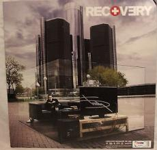 "EMINEM Slim Shady Signed Autographed ""RECOVERY"" Album PSA/DNA #Z03920"