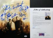 Emma Dumont Natalie Alyn Lind Sean Teale +6 Signed 'The Gifted' 11x14 Photo PSA