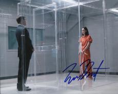 "EMMA DUMONT signed (THE GIFTED) LORNA DANE *POLARIS* 8X10 photo W/COA ""PROOF"" #3"
