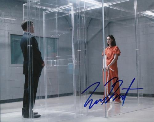 "EMMA DUMONT signed (THE GIFTED) LORNA DANE *POLARIS* 8X10 photo W/COA ""PROOF"" #3"