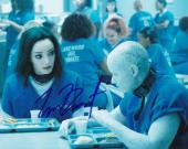 "EMMA DUMONT signed (THE GIFTED) LORNA DANE *POLARIS* 8X10 photo W/COA ""PROOF"" #5"