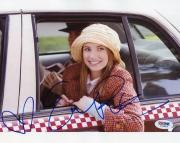 Emma Roberts Nancy Drew Signed 8X10 Photo Autograph PSA/DNA #I26043
