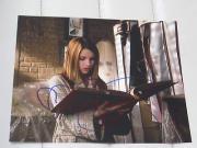 EMMA ROBERTS SIGNED AUTOGRAPH 8x10 PHOTO NANCY DREW B