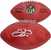 Emmitt Smith Dallas Cowboys Autographed Duke Pro Football