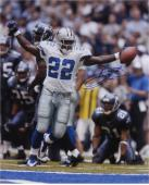 "Emmitt Smith Dallas Cowboys Autographed 16"" x 20"" Arms Out Photograph"