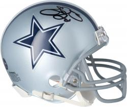 Dallas Cowboys Emmitt Smith Autographed Mini Helmet - Mounted Memories