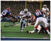 """Emmitt Smith Dallas Cowboys SB XXVII TD Autographed 8"""" x 10"""" Photograph"""