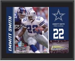 "Dallas Cowboys Emmitt Smith 10.5"" x 13"" Sublimated Plaque"