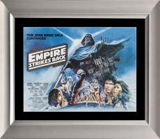 Empire Strikes Back, Original British Quad Poster. 1980