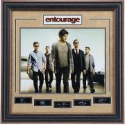 Entourage Series Poster: Autographed By Staring Cast.