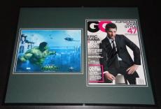 Eric Bana HULK Signed Framed 16x20 GQ Magazine & Photo Set