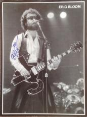 ERIC BLOOM (Blue Oyster Cult) signed Vintage magazine page-Guaranteed Authentic