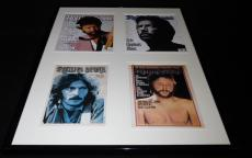 Eric Clapton 16x20 Framed Rolling Stone Cover Set