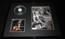 Eric Clapton 16x20 Framed Unplugged CD & 2011 Rolling Stone Display