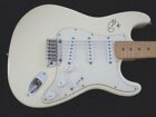 Eric Clapton 1995 Fender American Strat Body Signed Guitar BAS & REAL Certified