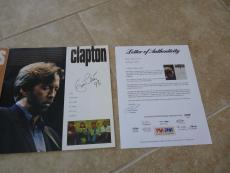 ERIC CLAPTON +4 Signed Blues Tour PROGRAM W/ PSA COA