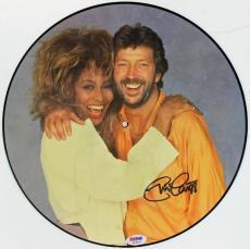 "Eric Clapton ""88"" Signed Tina Turner Album Vinyl PSA/DNA #H58029"