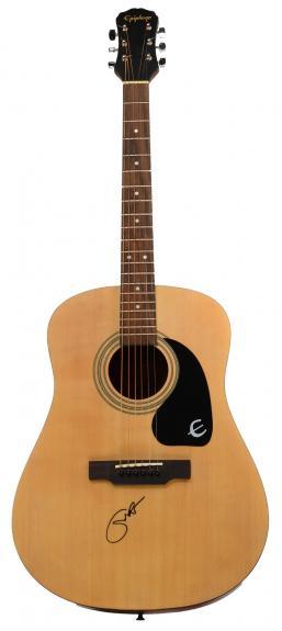 Eric Clapton Autographed Acustic Guitar - PSA/DNA LOA