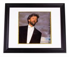 Eric Clapton Autographed Behind The Mask Signed LP Album AFTAL