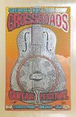 Eric Clapton Jeff Beck 2007 Crossroads Original Chuck Sperry Signed Poster