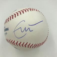 Eric Clapton, Keith Urban, Joe Walsh, Ed Sheeran Signed MLB Baseball JSA COA