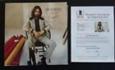 Eric Clapton RARE Autographed Signed LP Beckett Certified