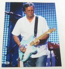 Eric Clapton Signed 11x14 Photo Authentic Autograph Cream Beckett Loa A