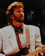 Eric Clapton Signed 16X20 Photo Auto Graded Perfect 10! PSA #U01307