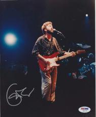 ERIC CLAPTON Signed 8 x10 PHOTO with PSA/DNA LOA
