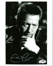 Eric Clapton Signed 8X10 Photo Autographed PSA/DNA #Y06748