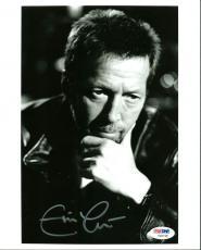 Eric Clapton Signed 8X10 Photo Autographed PSA/DNA #Y06748