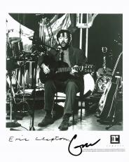 Eric Clapton Signed 8X10 Photo Autographed w/ Epperson (REAL) COA